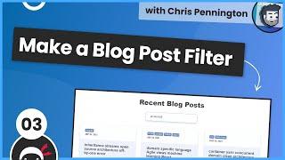 Make a Blog Post Filter #3 - Skeleton Loading Screen