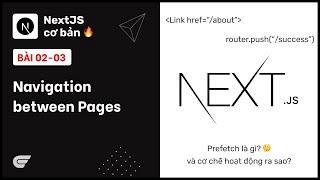NextJS: 02-03 Navigation between Pages