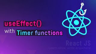 useEffect() with timer functions